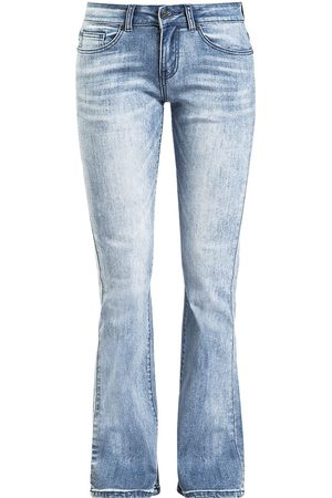 Black Premium by EMP Grace mit heller Waschung Girl-Jeans hellblau