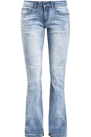 Black Premium by EMP Mädchen Cropped - Grace mit heller Waschung Girl-Jeans hellblau