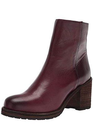 Frye Damen Karen Inside Zip Short Ankle Boot, Rot (burgunderfarben)