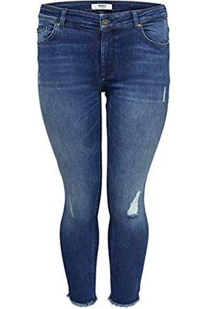 Carmakoma Female Skinny Fit Jeans Curvy Carwilly reg Ankle 42Medium Blue Denim