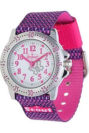 Scout Scout Mdchen Analog Quarz Uhr mit Textil Armband 280378006