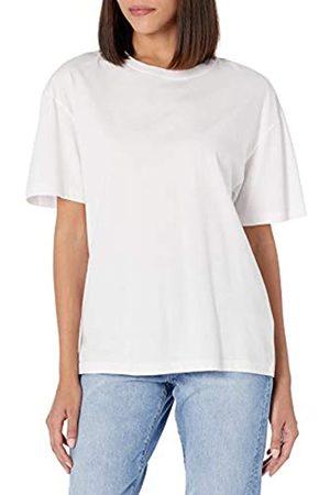 THE DROP T-Shirt Lydia für Damen, aus Jersey, kurze Ärmel, lockerer Schnitt, breite Schulterpartie