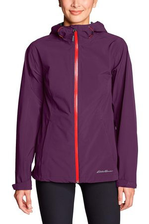 Eddie Bauer Damen Regenbekleidung - Cloud Cap 2.0 Stretch Regenjacke Damen Gr. XS