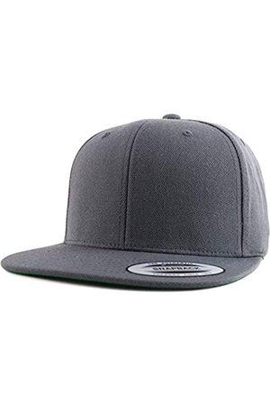 Armycrew Flexfit Oversize XXL Strukturierte Blank Flatbill Snapback Cap - - XX-Large