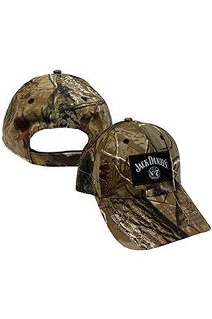 Jack Daniel's Offizielle Camo Baseball Cap – Herren Comfort Fit strukturierte Mütze – langlebig & leicht
