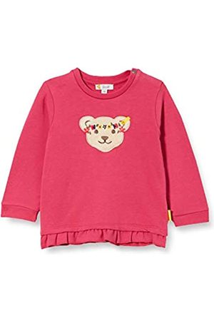 Steiff Steiff Baby-Mädchen mit süßer Teddybärapplikation Sweatshirt