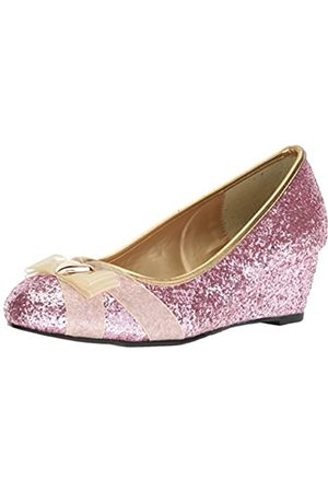 Ellie Shoes Damen 018-Princess Wedge Pump, Pink (Rose)