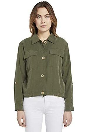 TOM TAILOR Damen Kurzblazer Blazer, 10373-Woodland Green