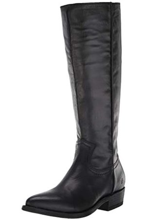 Frye Women's Billy Inside Zip Tall Western Boot, Black