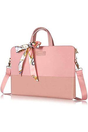 Kamlui Laptoptasche für Damen, 33,8 cm (13,3 Zoll), wasserdicht, Schultertasche, Messenger-Tasche