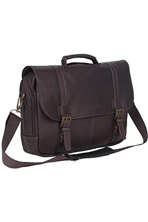 Kenneth Cole Kenneth Cole Reaction Show Business Portfolio aus genarbtem kolumbianischem Leder mit Zwei Fächern, 15,6 Zoll (39