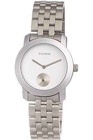 Pilgrim Pilgrim Damen Analog Quarz Uhr mit Edelstahl Armband 701616020