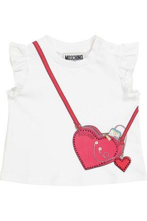 Moschino Baby Shirts - Baby T-Shirt aus Stretch-Baumwolle
