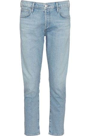 Citizens of Humanity Low-Rise Straight Jeans Emerson