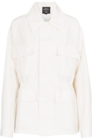 Stella McCartney Damen Jacken - Jacke mit Leinenanteil