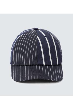 Thom Browne Hüte - Baseballcap mit Nadelstreifen
