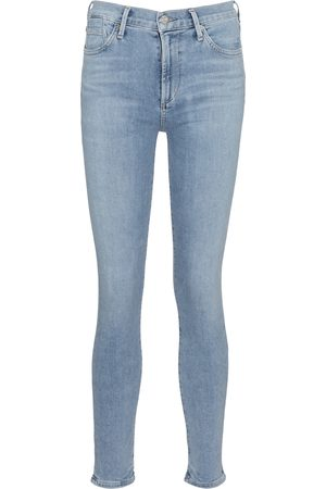 Citizens of Humanity Damen High Waisted - Mid-Rise Skinny Jeans Rocket Ankle