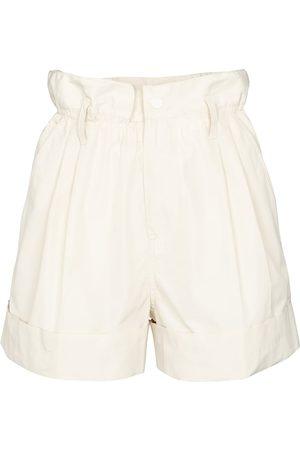 Moncler Damen Shorts - Shorts aus Faille