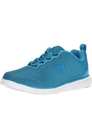Propet Propet Women's Travelfit Prestige Walking Shoe, Blue/Black