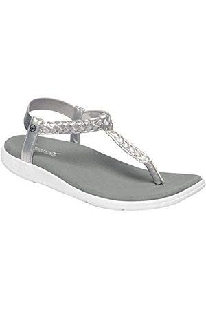 Regatta Damen Lady Santa Luna Sandal, Silver/White