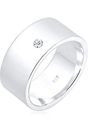 Elli Elli PREMIUM Ring Bandring Basic Diamant (0.03 ct.) 925