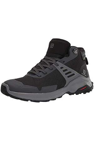 Salomon Damen Calzado Medio X Raise MID GTX Trekking-& Wanderstiefel, Ebony/Bl