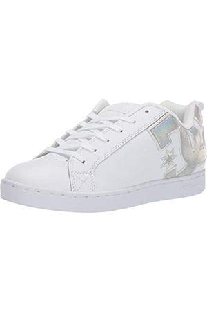 DC Damen Court Graffik Skate Schuh, Wei ( /Spritzer)