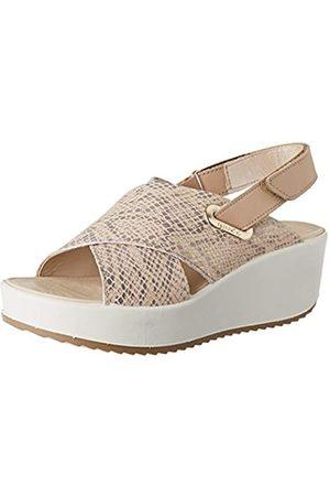 IGI&CO Damen Sandalo Donna Dcd 51784 Plateau Sandalen, (Platino 5178411)