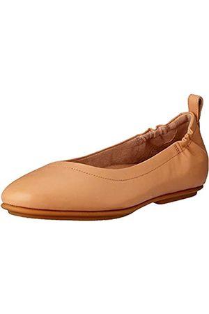 FitFlop Damen Allegro Q74 Geschlossene Ballerinas, Rot (Blush 668)