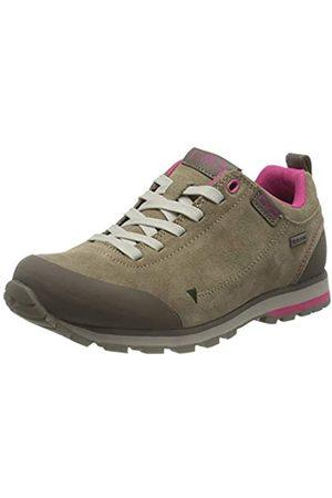 CMP Damen Elettra Low WMN Hiking WP Walking Shoe, Wood-CARMINIO