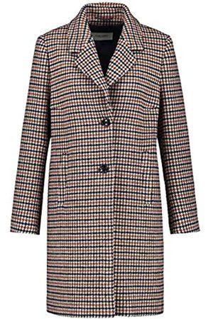 Gerry Weber Damen Westen - Damen Karierter Mantel ausgestellt 36