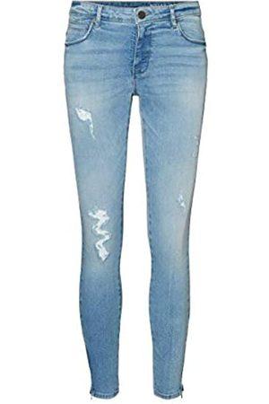 Noisy May Damen Nmkimmy Nw Ank Zip Az093lb Bg Noos Jeans