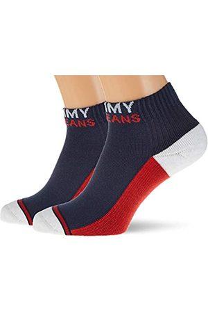 Tommy Hilfiger Unisex-Adult Quarter (2 Pack) Socks