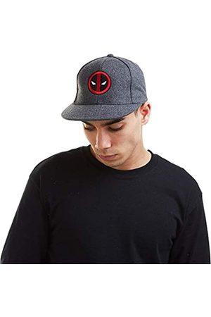 Marvel Herren Caps - Herren Deadpool Logo Cap Verschluss
