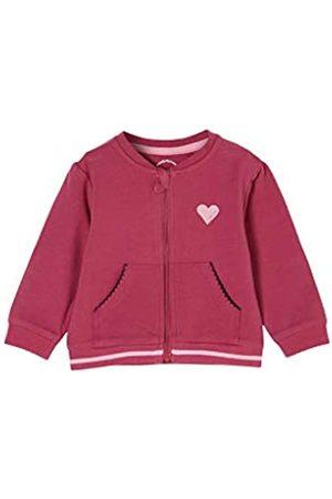 s.Oliver S.Oliver Unisex - Baby Kuschelige Jacke aus Felpa pink 80