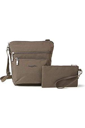 Baggallini Crossbody-Tasche mit RFID-geschütztem Handgelenk, (Portobello)
