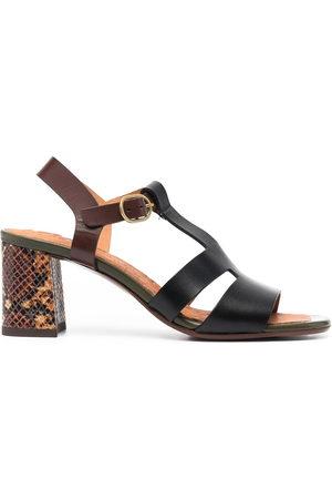 adidas Sandalen mit Blockabsatz