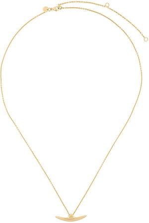 adidas Vergoldetete 'Arc' Silberhalskette - Metallisch