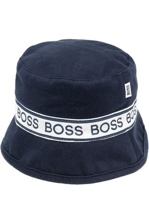 HUGO BOSS Fischerhut mit Logo-Band