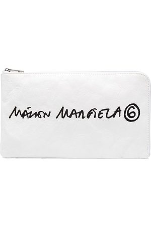MM6 MAISON MARGIELA Clutch mit Logo-Print