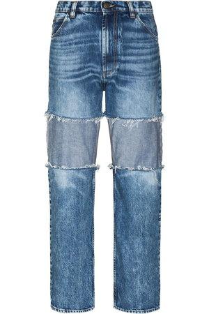 adidas Boyfriend-Jeans mit hohem Bund