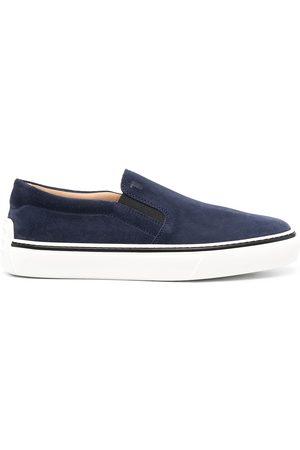adidas Slip-On-Sneakers mit Kontrastdetail