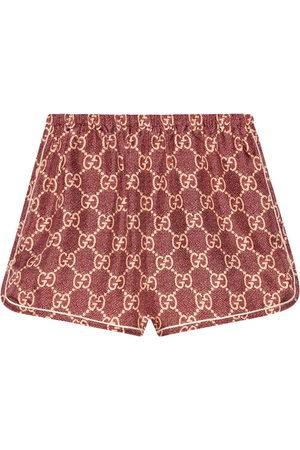 adidas Damen Shorts - Shorts aus GG Supreme