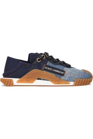 Dolce & Gabbana Jeans-Sneakers mit Schleife