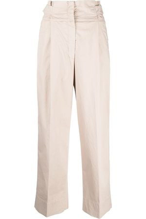 adidas Cropped tailored trousers - Nude