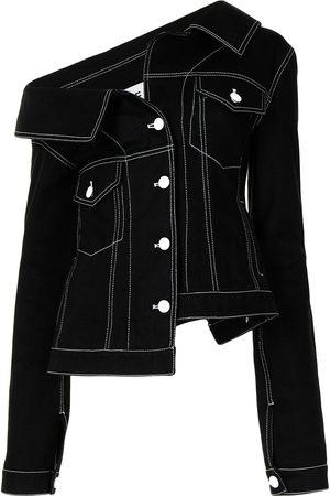 adidas Asymmetric denim jacket