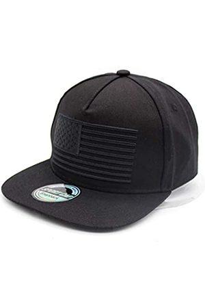 SINLOOG Herren Caps - Unisex Baseball Caps Snapback Cap mit USA Flagge Flat Bill Brim Dad Hat, Unisex-Erwachsene