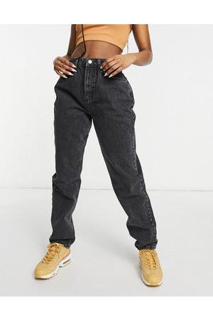 adidas Hourglass – Lässige Mom-Jeans mit hoher Taille in verwaschenem