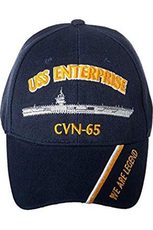 Artisan Owl Artisan Owl Offiziell lizenzierte USS Enterprise CVN-65 bestickte Baseballkappe