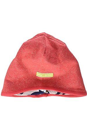 loud + proud Hüte - Kinder-Unisex Wendemütze Melange Strick Beanie-Mütze